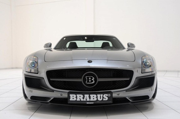 BRABUS 700 Biturbo based on Mercedes SLS AMG 8
