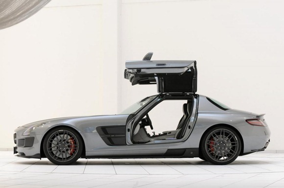 BRABUS 700 Biturbo based on Mercedes SLS AMG 9