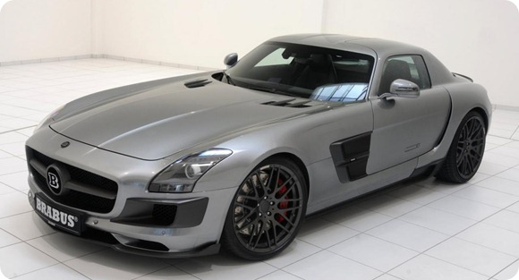 BRABUS 700 Biturbo based on Mercedes SLS AMG