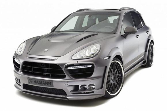 Hamann Guardian based on Porsche Cayenne 8