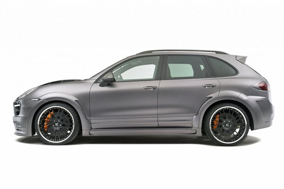 Hamann Guardian based on Porsche Cayenne