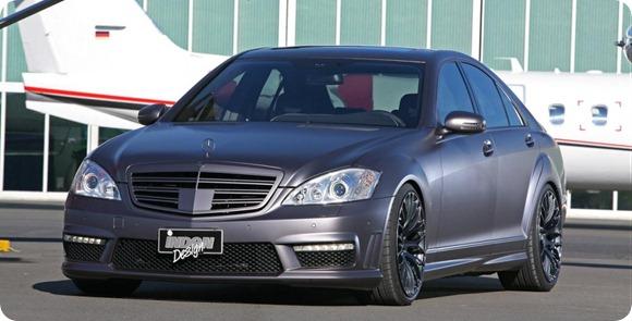 Mercedes-Benz S-Class by Inden Design 3