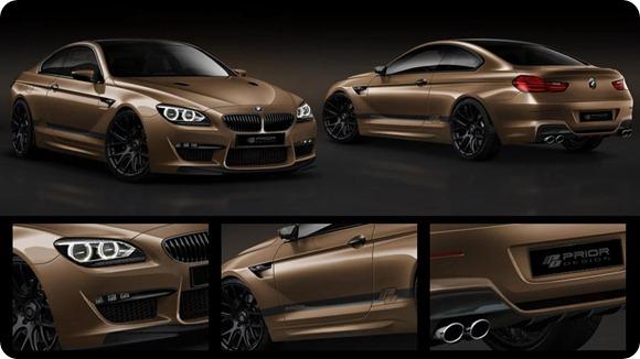 Prior Design BMW 6-Series Coupe F12 body kit
