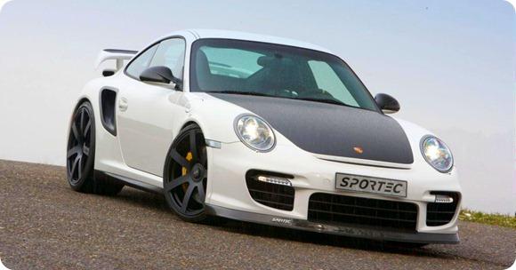 Sportec SP 800 R based on Porsche GT2 RS 5