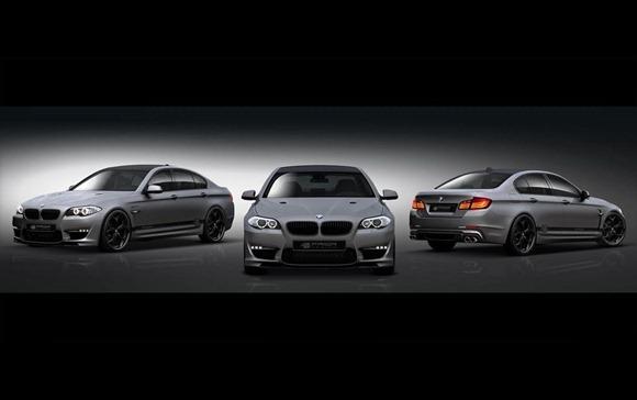 BMW 5-Series F10 aerodynamic-kit preview by Prior Design 2