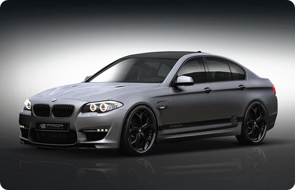 BMW 5-Series F10 aerodynamic-kit preview by Prior Design 4