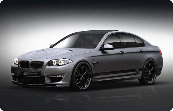 BMW 5-Series F10 aerodynamic-kit preview by Prior Design 4