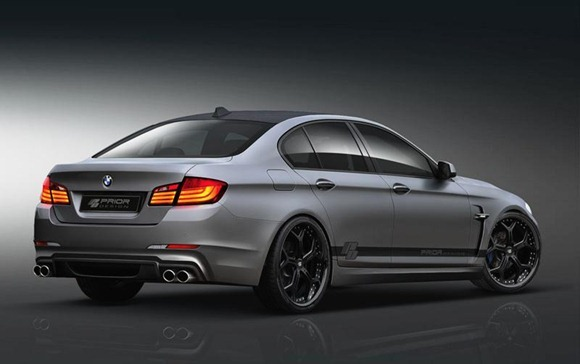 BMW 5-Series F10 aerodynamic-kit preview by Prior Design
