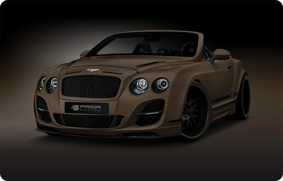 Bentley Continental GT Convertible by Prior-Design 1