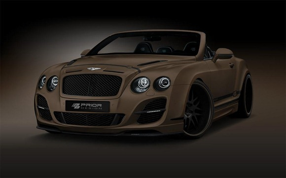 Bentley Continental GT Convertible by Prior-Design 1