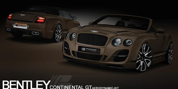 Bentley Continental GT Convertible by Prior-Design 2