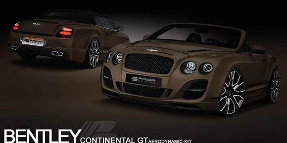 Bentley Continental GT Convertible by Prior-Design 2