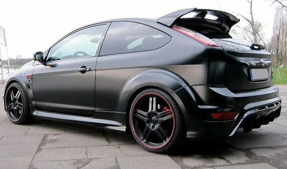 Ford Focus RS Black Racing Edition by Anderson 2
