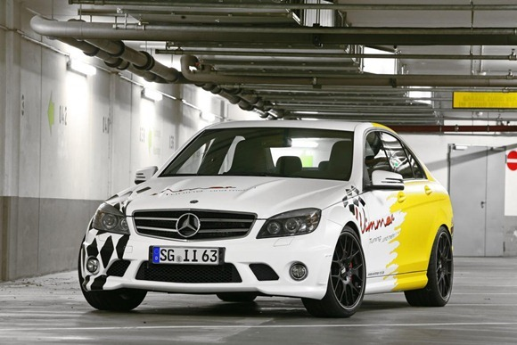 Mercedes C63 AMG by Wimmer RS  1