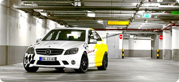 Mercedes C63 AMG by Wimmer RS 2