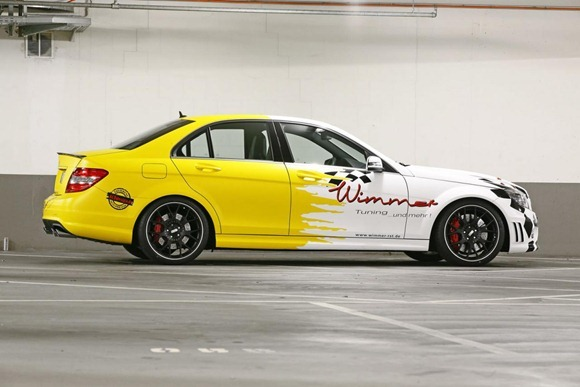 Mercedes C63 AMG by Wimmer RS  6