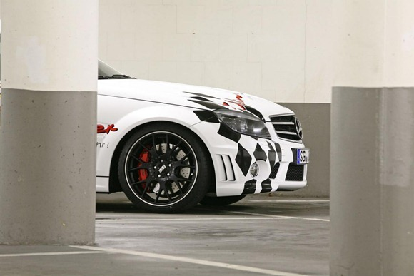 Mercedes C63 AMG by Wimmer RS 7