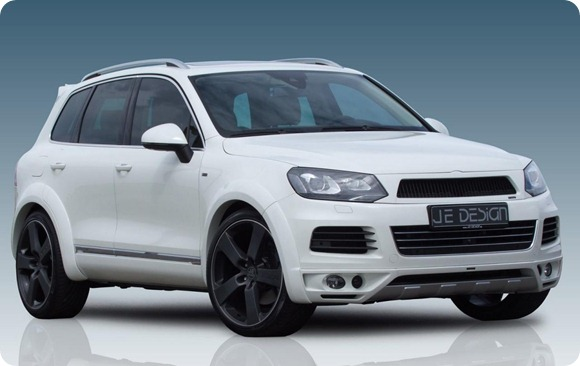 Volkswagen Touareg II wide body by JE Design 1
