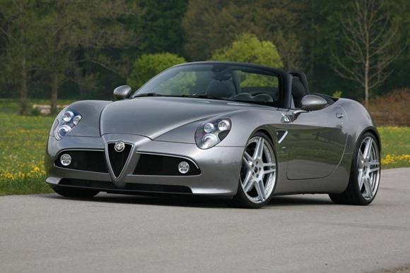 Alfa Romeo 8C Spider by Novitec