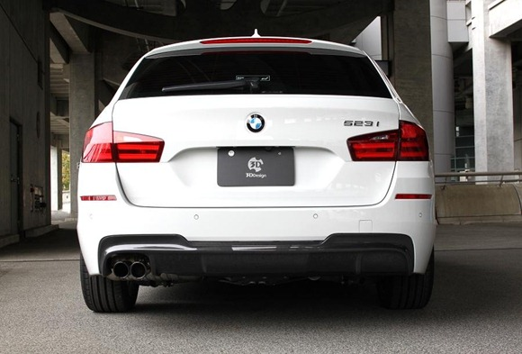 BMW 5 Series M-Sport aero package by 3D Design 13