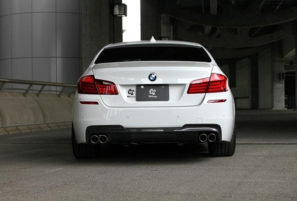 BMW 5 Series M-Sport aero package by 3D Design 14