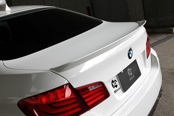 BMW 5 Series M-Sport aero package by 3D Design 18