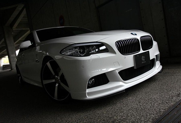 BMW 5 Series M-Sport aero package by 3D Design 1