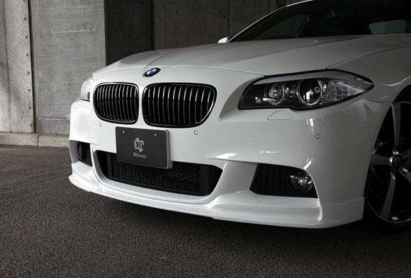 BMW 5 Series M-Sport aero package by 3D Design 3