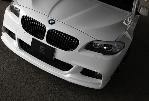 BMW 5 Series M-Sport aero package by 3D Design 4