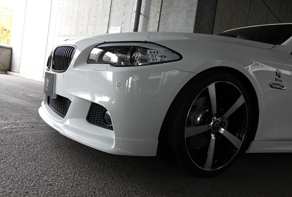 BMW 5 Series M-Sport aero package by 3D Design 5