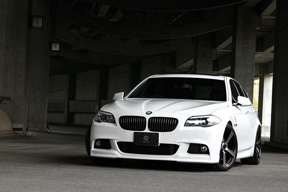 BMW 5 Series M-Sport aero package by 3D Design 7