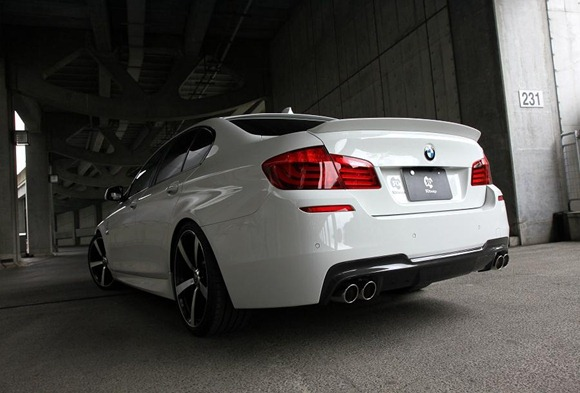 BMW 5 Series M-Sport aero package by 3D Design