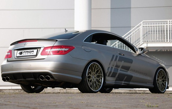 Mercedes E-Class Coupe by Prior Design 120