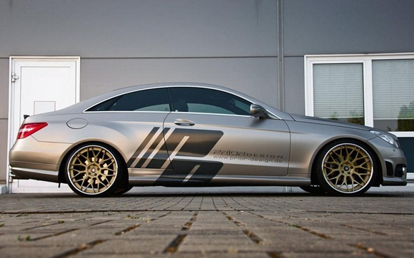 Mercedes E-Class Coupe by Prior Design 12