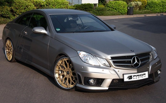 Mercedes E-Class Coupe by Prior Design 1