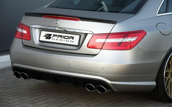 Mercedes E-Class Coupe by Prior Design 25