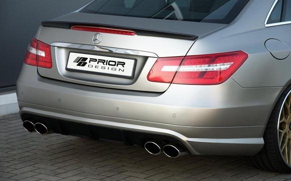 Mercedes E-Class Coupe by Prior Design 25