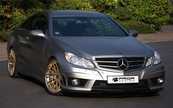 Mercedes E-Class Coupe by Prior Design 2