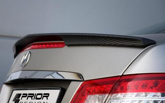 Mercedes E-Class Coupe by Prior Design 31