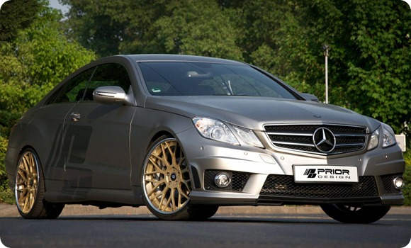 Mercedes E-Class Coupe by Prior Design 3