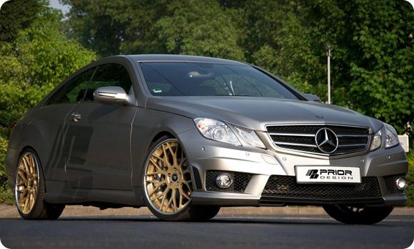 Mercedes E-Class Coupe by Prior Design 3