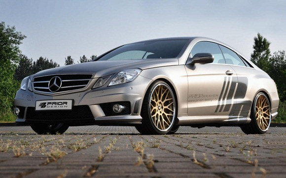 Mercedes E-Class Coupe by Prior Design 5