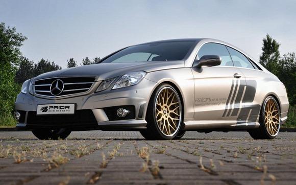 Mercedes E-Class Coupe by Prior Design 5