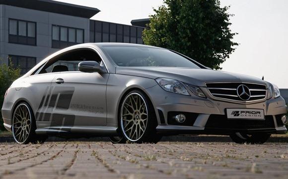 Mercedes E-Class Coupe by Prior Design 6