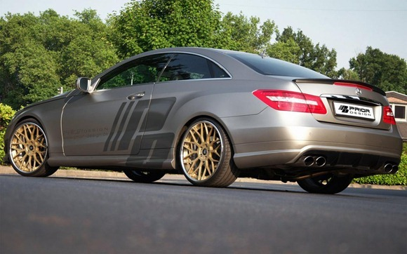 Mercedes E-Class Coupe by Prior Design 8
