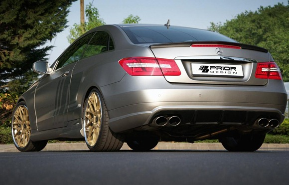 Mercedes E-Class Coupe by Prior Design 9