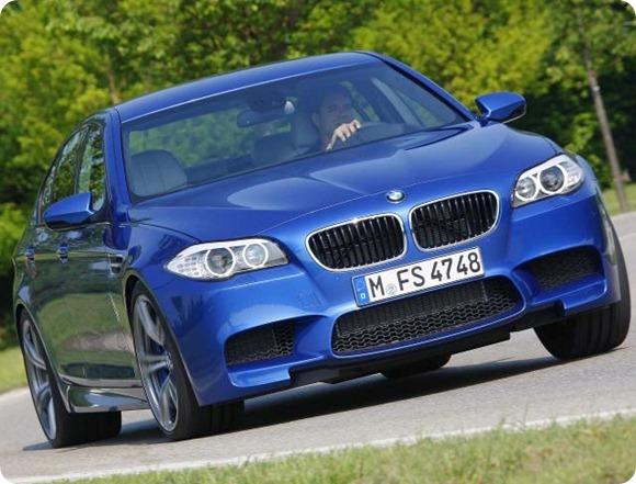 2012 BMW M5 F10 16