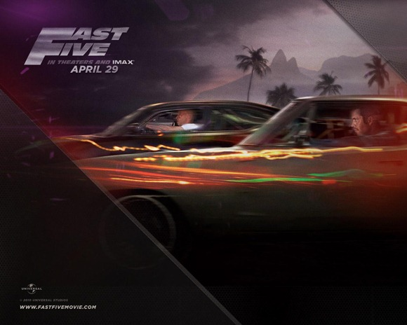 Fast and the Furious 5 wallpapers 4