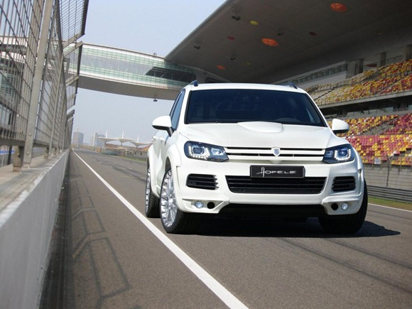 Volkswagen Touareg II Royal GT 470 by Hofele Design 12