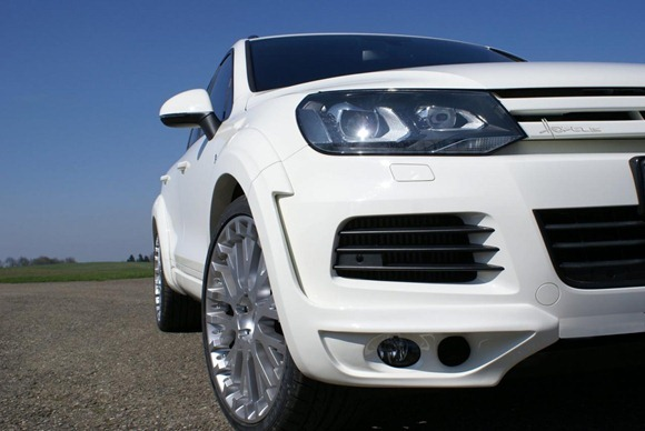 Volkswagen Touareg II Royal GT 470 by Hofele Design 19